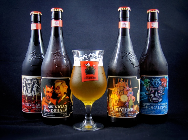 Beerism does le trou du diable beautiful bottles for Le miroir du diable