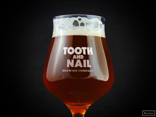 Tooth and Nail - Glass branded